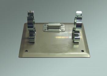 Bracket for multipurpose branchpipe, made of stainless steel, c/w 1 bracket holder for coupling key