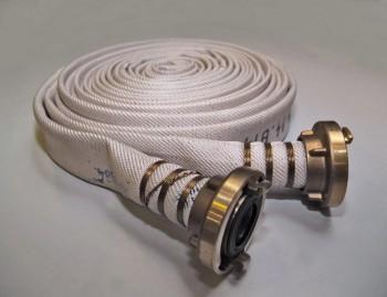 Fire hose, type Marine, white