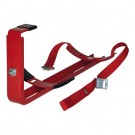 Universal vehicle holder for 6 kg fire extinguisher
