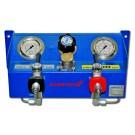 Filling panel, type 200/300 D, 1 filling valve 200 bar - 1 filling valve 300 bar