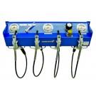 Filling panel, type 200/300 D, 1 filling valve 200 bar - 3 filling valves 300 bar