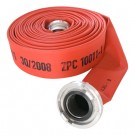 Fire hose, type Marine, red coloured