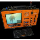 Video Surface Control Case (Two Diver) with Monitor, Video & Light Control & DVR and Communicator.