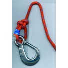 Safety line, type Flammtrutz, 40 m, with snap hook